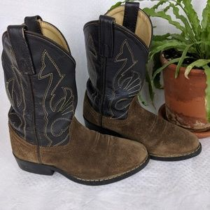 Masterson Boot Co Kids Youth Cowboy Boots 12.5